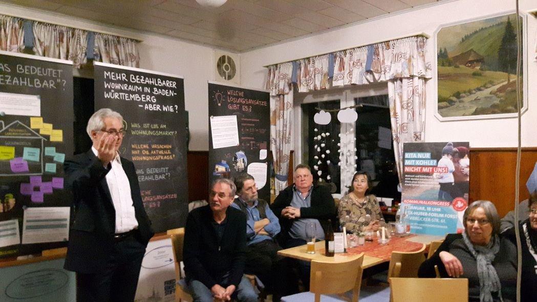Veranstaltung Bezahlbarer Wohnraum Spd Pfinztal